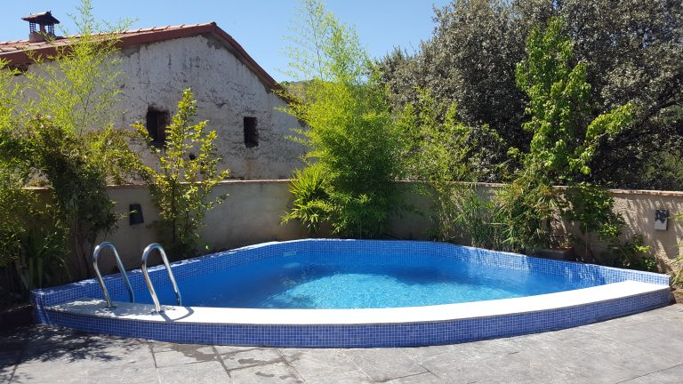 piscina casa rural en Extremadura