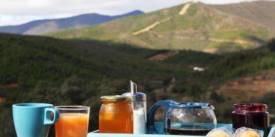 desayuno alquiler casa rural en extremadura cáceres